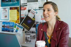 CSUMB senior Elizabeth Hensley discusses her thoughts on current politics.